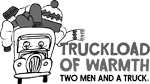TWO MEN AND A TRUCK logo sponsor of Winter Warmth Drive